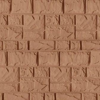 Fasadnye paneli CANADARIDGE faktura Tesanyj kamen 525 x 645 mm bezhevyj 1