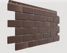 Фасадные панели Docke, коллекция Berg, полипропилен, Коричневый