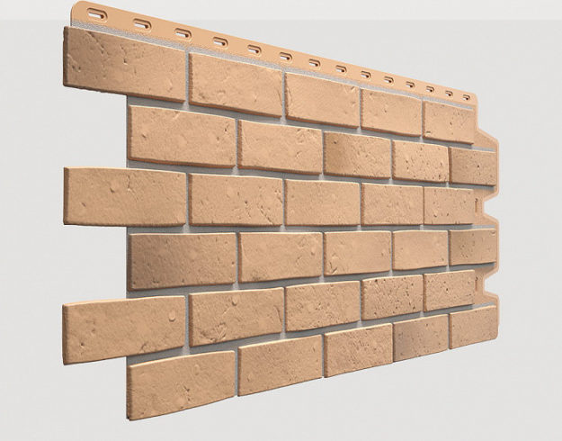 Fasadnye paneli Docke kollektsiya Berg polipropilen tsvet Zolotoj