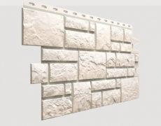 Фасадные панели Docke, коллекция Burg, полипропилен, цвет Белый