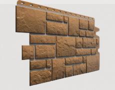 Фасадные панели Docke, коллекция Burg, полипропилен, цвет Кукурузный