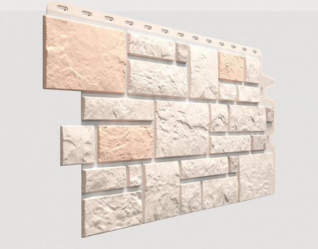 Fasadnye paneli Docke kollektsiya Burg polipropilen tsvet Lnyanoj