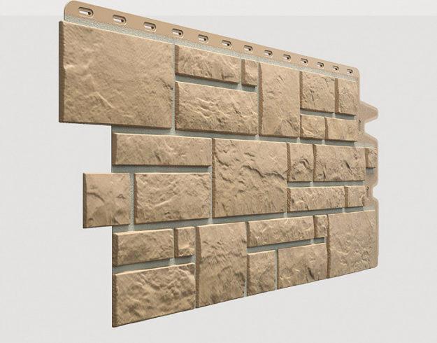 Fasadnye paneli Docke kollektsiya Burg polipropilen tsvet Olivkovyj