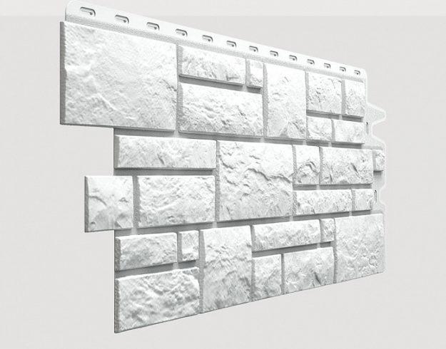 Fasadnye paneli Docke kollektsiya Burg polipropilen tsvet Platinovyj