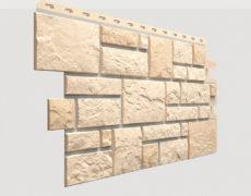 Фасадные панели Docke, коллекция Burg, полипропилен, цвет Пшеничный