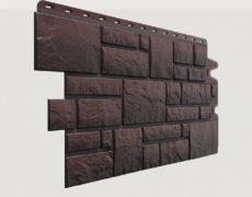 Фасадные панели Docke, коллекция Burg, полипропилен, цвет Темный