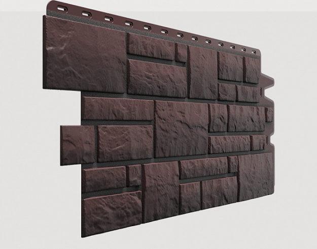 Fasadnye paneli Docke kollektsiya Burg polipropilen tsvet Temnyj