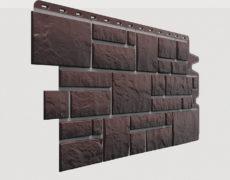Фасадные панели Docke, коллекция Burg, полипропилен, цвет Земляной