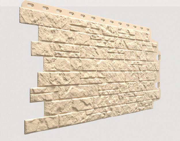 Fasadnye paneli Docke kollektsiya Edel polipropilen tsvet Berill