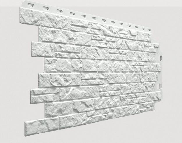Fasadnye paneli Docke kollektsiya Edel polipropilen tsvet TSirkon