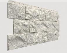 Фасадные панели Docke, коллекция Fels, полипропилен, цвет Горный хрусталь