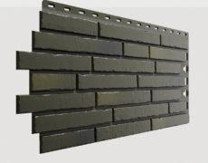 Фасадные панели Docke, коллекция Klinker, полипропилен, цвет Атакама