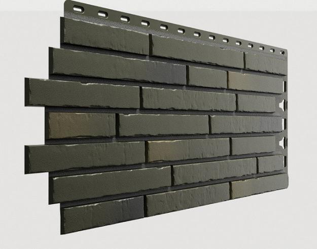 Fasadnye paneli Docke kollektsiya Klinker polipropilen tsvet Atakama