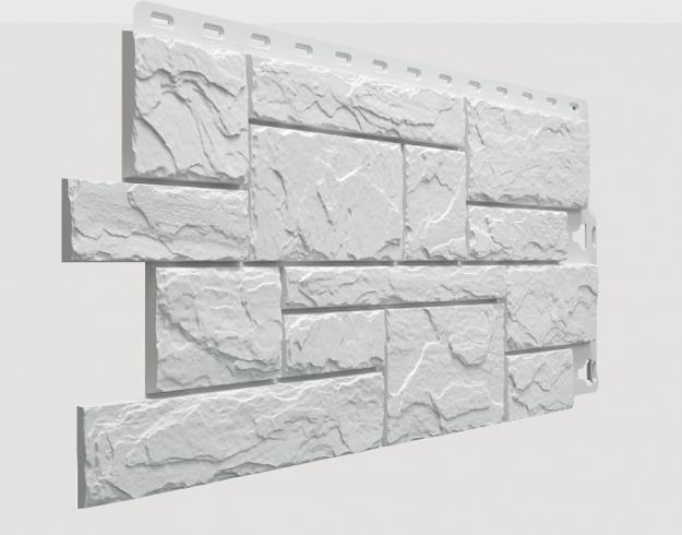 Fasadnye paneli Docke kollektsiya Slate polipropilen tsvet Leh