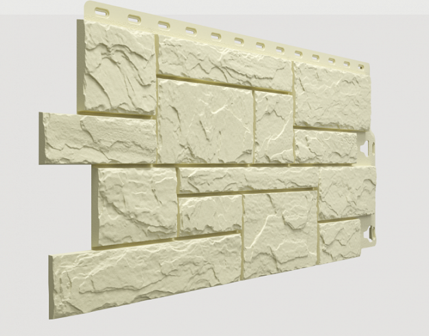 Fasadnye paneli Docke kollektsiya Slate polipropilen tsvet SHamoni
