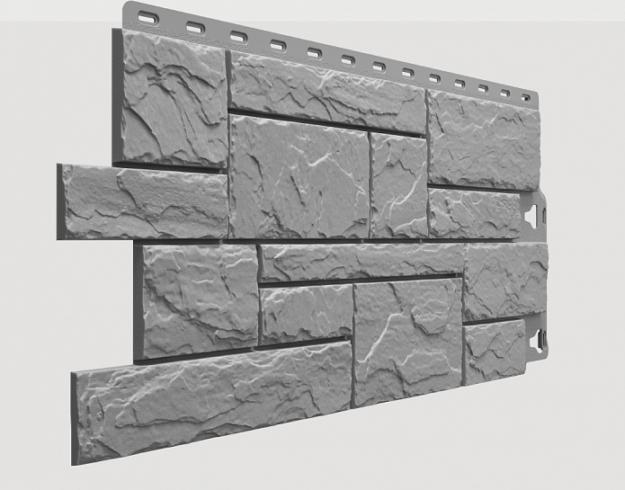 Fasadnye paneli Docke kollektsiya Slate polipropilen tsvet Val Gardena