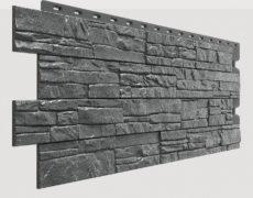 Фасадные панели Docke, коллекция Stein, полипропилен, цвет Антрацит