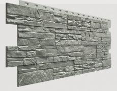 Фасадные панели Docke, коллекция Stein, полипропилен, цвет Базальт