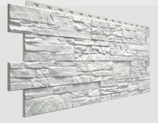 Фасадные панели Docke, коллекция Stein, полипропилен, цвет Молочный