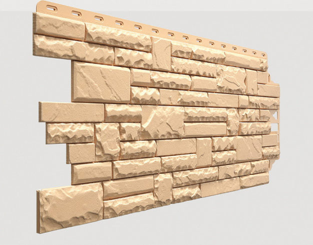 Fasadnye paneli Docke kollektsiya Stern polipropilen tsvet Antik