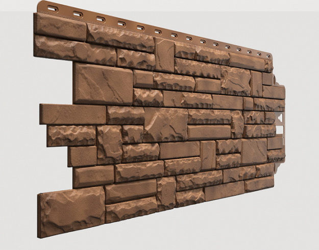 Fasadnye paneli Docke kollektsiya Stern polipropilen tsvet Dakota