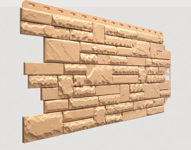 Fasadnye paneli Docke kollektsiya Stern polipropilen tsvet Marmaris