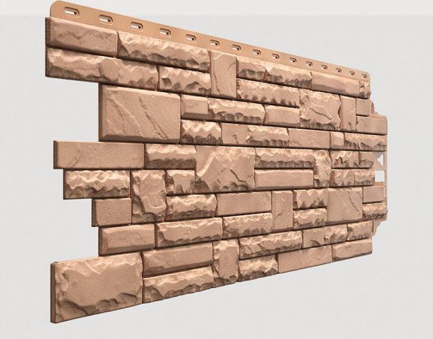 Fasadnye paneli Docke kollektsiya Stern polipropilen tsvet Rodos