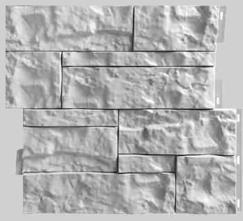 Fasadnye paneli dlya naruzhnoj otdelki doma Wildstone tsvet belyj 1