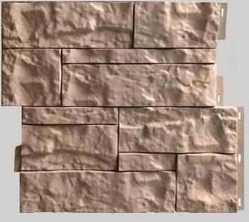 Fasadnye paneli dlya naruzhnoj otdelki doma Wildstone tsvet bezhevyj 1