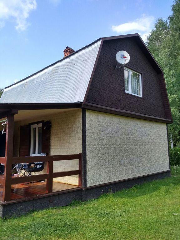 Fasadnye paneli dlya naruzhnoj otdelki doma Wildstone tsvet korichnevyj 2