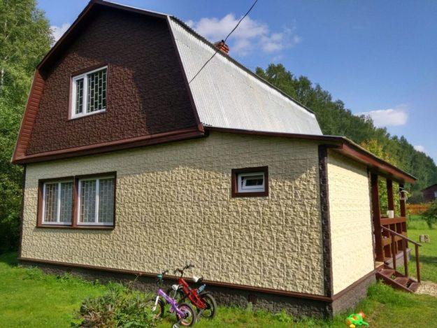 Fasadnye paneli dlya naruzhnoj otdelki doma Wildstone tsvet korichnevyj 3