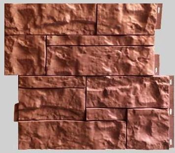 Fasadnye paneli dlya naruzhnoj otdelki doma Wildstone tsvet terrakot 1