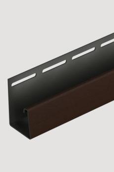 Фасадный J-профиль Docke 30 мм (Berg, Burg, Flemish) Шоколадный