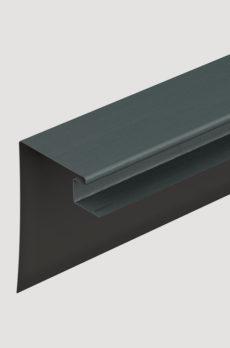 Фасадный оконный профиль Docke 230 мм Графитовый