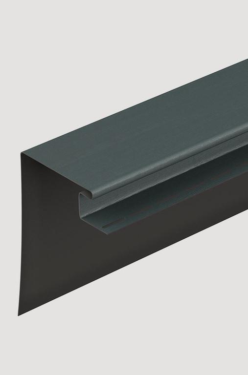 Fasadnyj okonnyj profil Docke 230 mm Grafitovyj