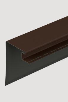 Фасадный оконный профиль Docke 230 мм Шоколадный
