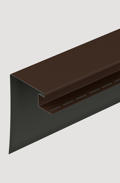 Fasadnyj okonnyj profil Docke 230 mm SHokoladnyj