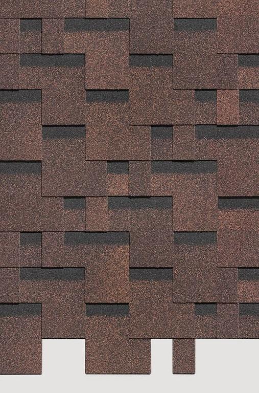 Gibkaya cherepitsa Docke ceriya Standart kollektsiya Tetris tsvet Korichnevyj