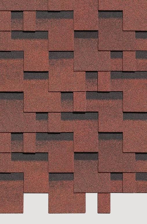 Gibkaya cherepitsa Docke ceriya Standart kollektsiya Tetris tsvet Krasnyj