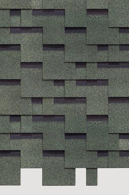 Gibkaya cherepitsa Docke ceriya Standart kollektsiya Tetris tsvet Zelenyj