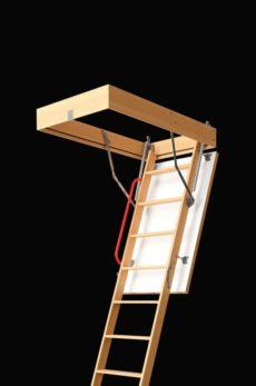 Лестница на чердак с люком Docke серия Premium 70х120х300 см