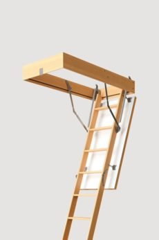 Лестница на чердак с люком Docke серия Standart 60х120х300 см