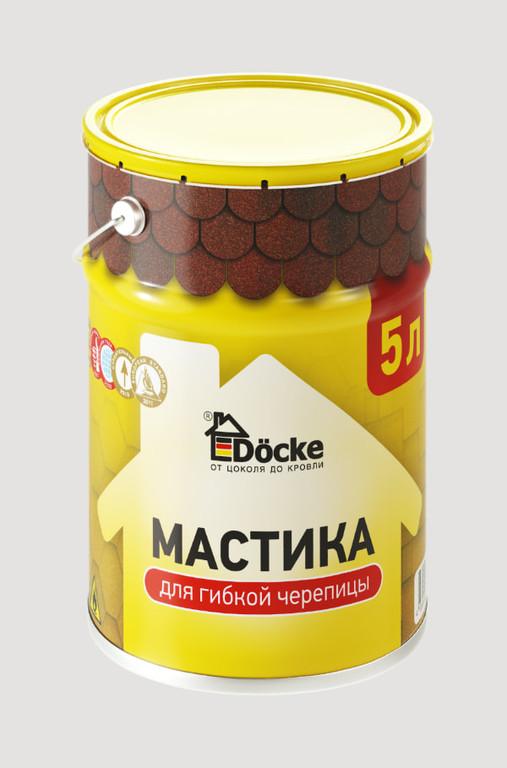 Mastika bitumnaya dlya gibkoj cherepitsy Docke 5 l