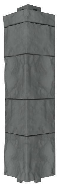Оконно-угловой профиль Canadaridge, наружный угол, цвет темно-серый