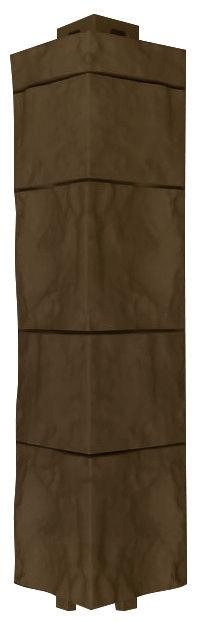 Оконно-угловой профиль, наружный угол Canadaridge, коричневый