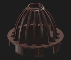 Сетка защитная Docke для кровли, серия Premium, цвет Шоколад/Каштан/Графит/