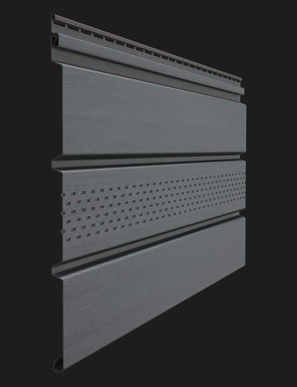 Sofity Doske seriya Premium T4 s tsentralnoj perforatsiej tsvet Grafit