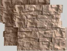 Цокольный сайдинг камень Wildstone, 410х470 мм, цвет бежевый