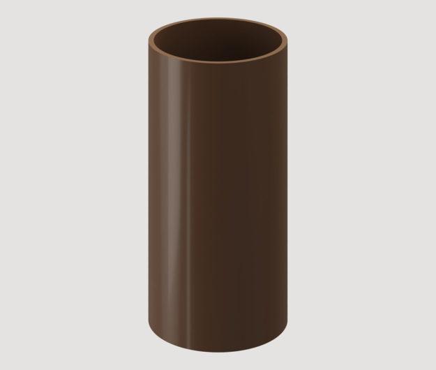 Truba vodostochnaya Docke Standart 3 m KrasnyjZelenyjTemno korichnevyj 1