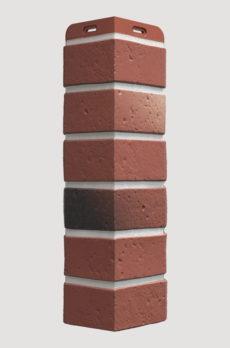 Угол фасадный Docke Berg, цвет Рубиновый